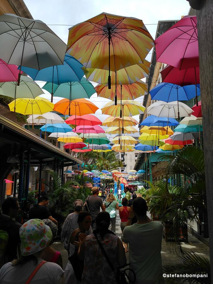 I suggestivi ombrelli di Mauritius