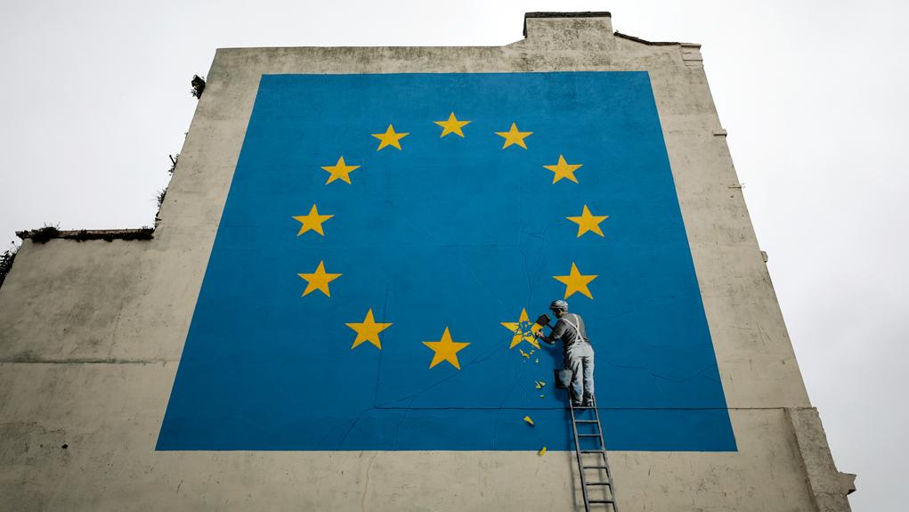 Brexit Banksy - tavolobrain - blog di copiaincolla