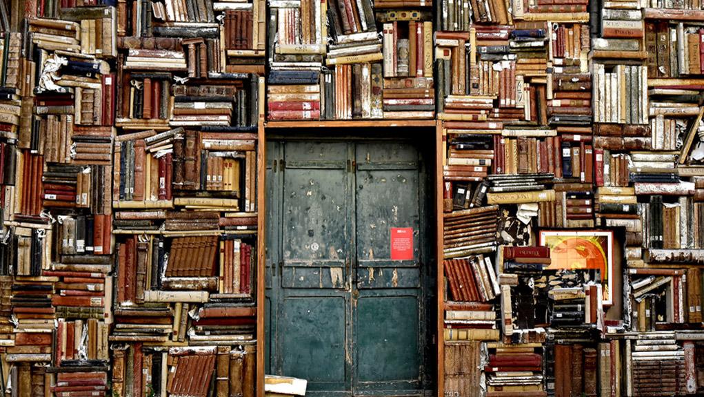 Un amante della tecnologia e di libri